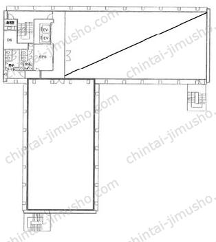 菱化代々木ビル2Fの間取図