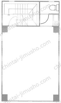 亀島ビル4Fの間取図