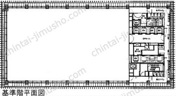 ミュージアムタワー京橋19Fの間取図