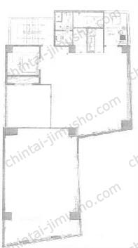 THE PORTAL Nihombashi East4Fの間取図