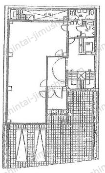 アデックス一番町ビル1Fの間取図