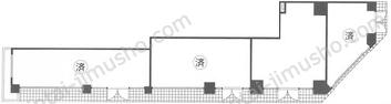 Barbizon371Fの間取図