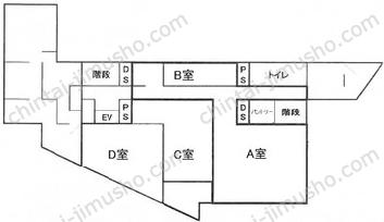 東京富山会館3Fの間取図