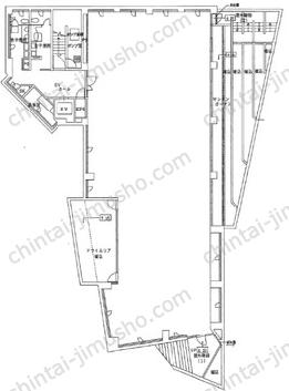 MPR六本木三河台ビルB1Fの間取図