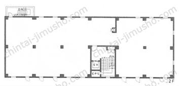 第1矢野新ビル2Fの間取図