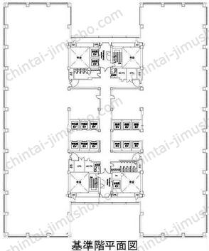 浜松町ビルディング30Fの間取図