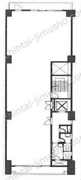 芝栄太楼ビル6Fの間取図