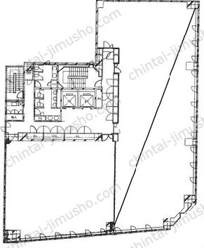 下谷ビル5Fの間取図