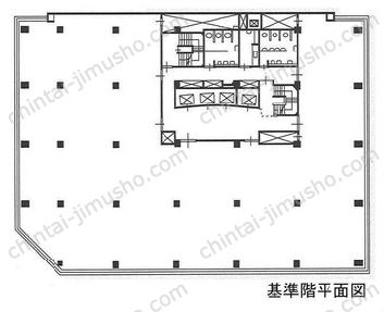 京橋第一生命ビル7Fの間取図