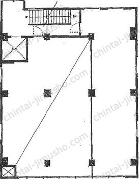 第2矢木ビル3Fの間取図