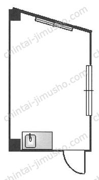 板橋新生ビル2Fの間取図