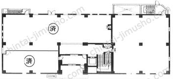 第1矢野新ビル1Fの間取図