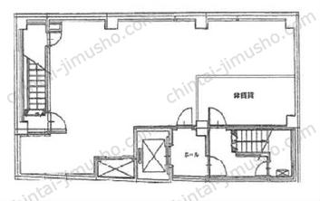 山栄第3ビルB1Fの間取図