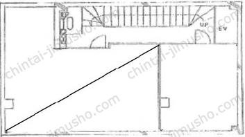 第1野口ビル3Fの間取図