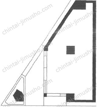 菊信第一ビル1Fの間取図