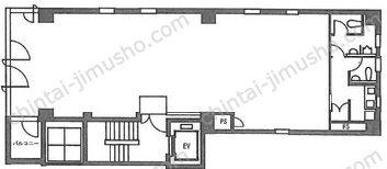 第2小川ビル3Fの間取図
