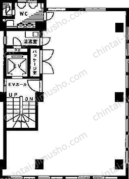 三和商事ビル5Fの間取図