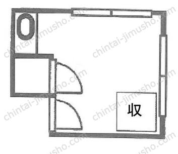 銀座アトリエビル3Fの間取図
