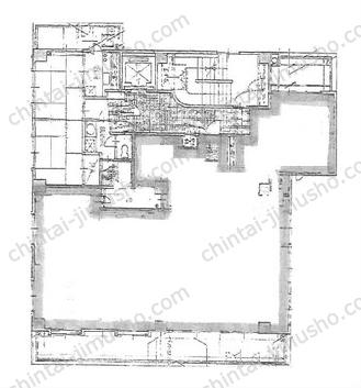 近代BLD.22(旧 能登瀬ビル)4Fの間取図
