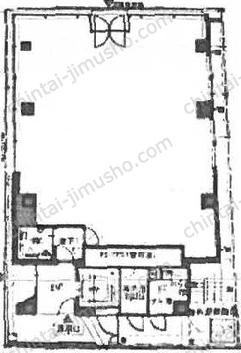 南青山5丁目プロジェクト(南青山5丁目ビル新築計画)1Fの間取図