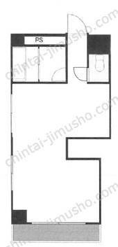 小野木ビル3Fの間取図