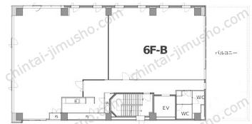 IEI高輪イマスビル6Fの間取図