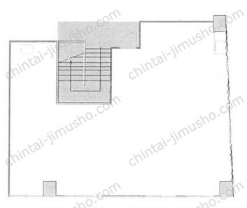 科研ビル旧館2Fの間取図