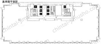 アークヒルズサウスタワー14Fの間取図