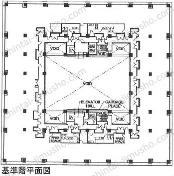 the SOHO5Fの間取図