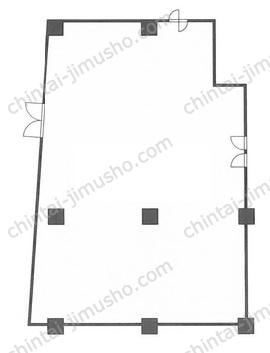 京王幡ヶ谷ビル3Fの間取図