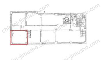 東京銀座ビルディングB1Fの間取図
