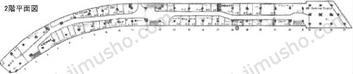 銀座ファイブ2Fの間取図