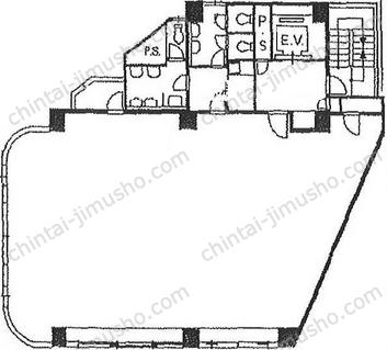 杏林ビル6Fの間取図
