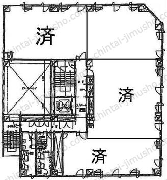 松栄関内ビル7Fの間取図