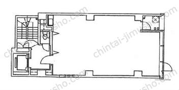 第3東邦ビル2Fの間取図