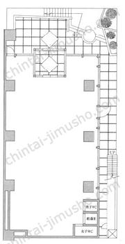 Daiwa西新橋ビルB1Fの間取図