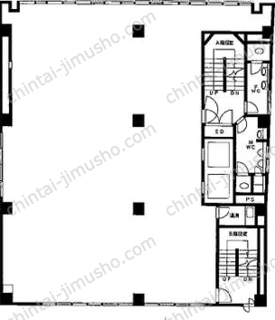 八重洲市谷ビル9Fの間取図