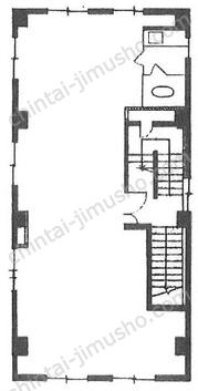 岩崎ビル2Fの間取図