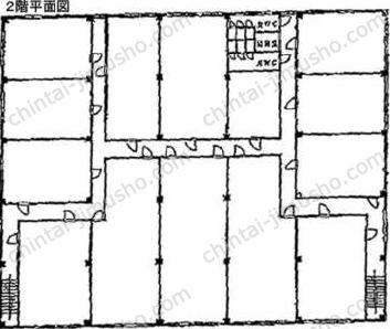 松岡品川埠頭ビル2Fの間取図