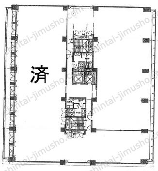 千代田ビル3Fの間取図