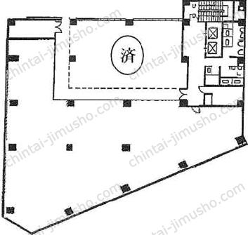 いちご東池袋ビル7Fの間取図
