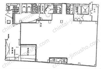 青山クリスタルビル1Fの間取図