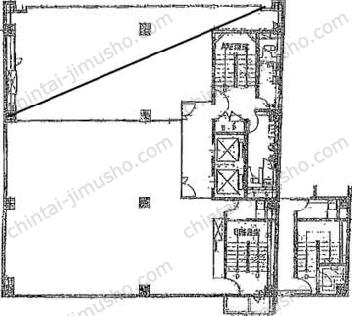 八重洲市谷ビル10Fの間取図
