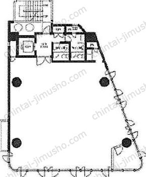 神谷町プラザビル2Fの間取図