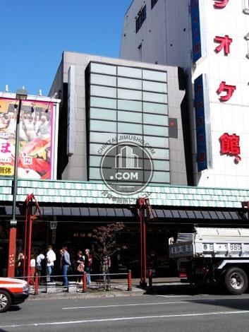 森永浅草雷門ビルの外観写真