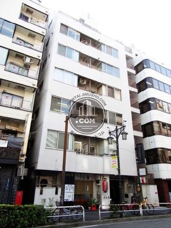 ライオンズマンション東五反田の外観写真