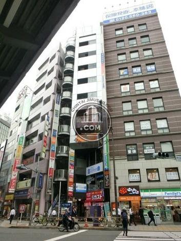 神田駅前ビルの外観写真