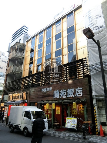 HK新橋ビルの外観写真