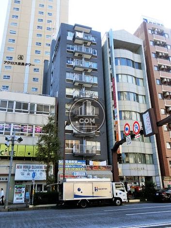 朝日目黒ビジネスマンションの外観写真
