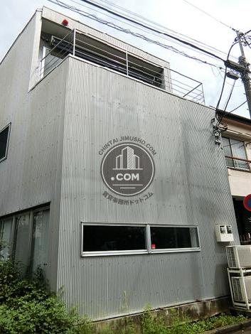 千駄ヶ谷二丁目一棟ビルの外観写真